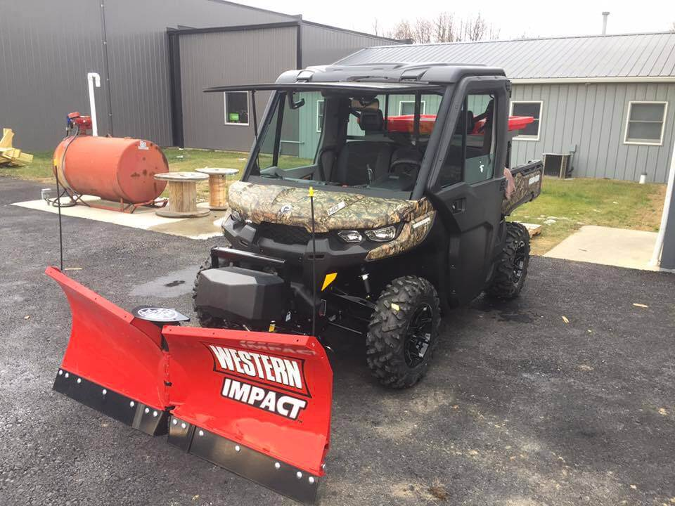 How To Choose The Right Snow Plow For Your Atv Or Side By