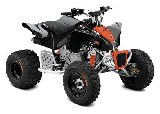 can-am ds 90x youth atv