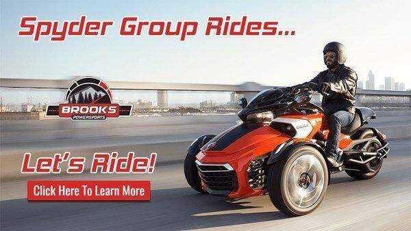 Spyder Group Ride with Brooks PowerSports Harrisburg