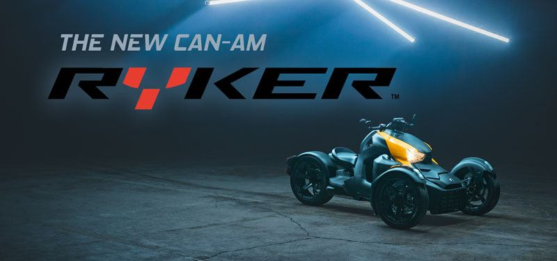 The New Can-Am Ryker Model
