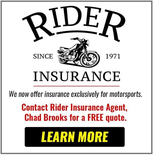 Get Rider Insurance with Brooks Powersports