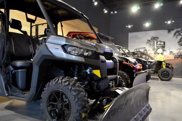 Brooks Powersports Showroom located in Grantville, PA