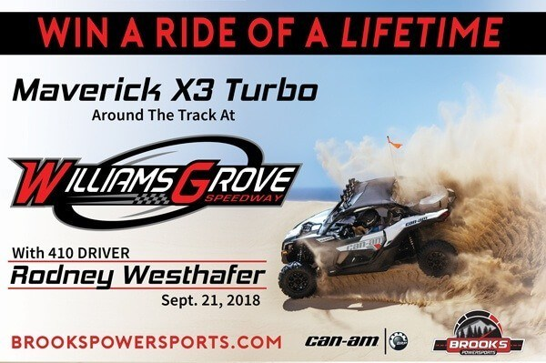 Win A Ride Around Williams Grove Speedway